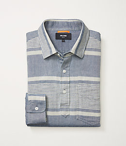 Double Face Chambray Popover
