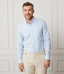 Cotton Oxford Long Sleeve Shirt
