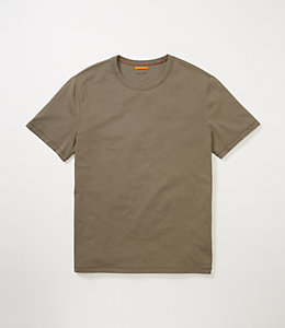 Cotton Crew Neck Tee