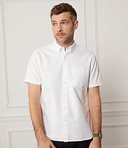 Short Sleeve Slim Fit Oxford