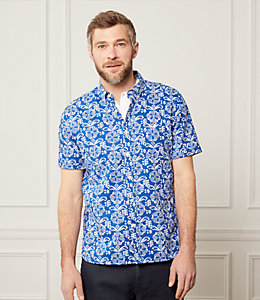 Short Sleeve Mexico Floral Shirt