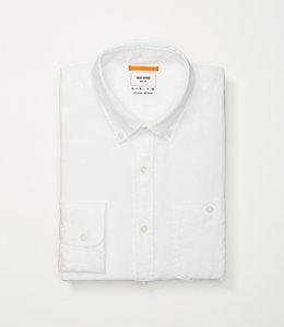 Garment-Dyed Linen Shirt