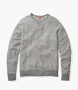Dipped Stripe Sweatshirt