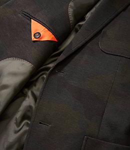 Camo Knit Travel Blazer