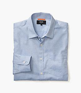 Blue Flecked Oxford Shirt