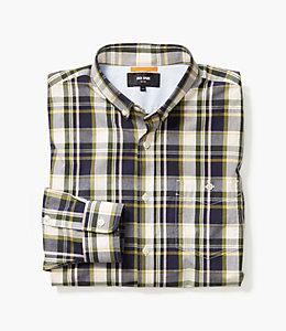 Preppy Plaid Button Down Shirt