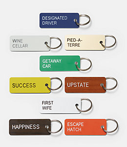 Pied-A-Tierre Keytag by Various Keytags