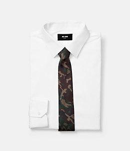 Camo Print Tie