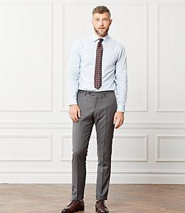 Thompson Melange Stripe Dress Shirt