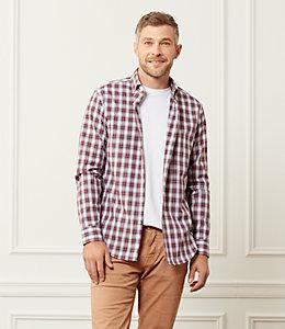 Thompson Classic Fit Stewart Tartan Dress Shirt