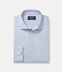 Thompson Classic Fit Glen Plaid Dress Shirt