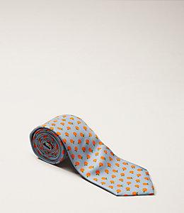 Oranges Print Tie