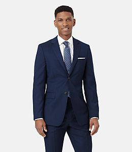 Warren Fit Micro striped Suit
