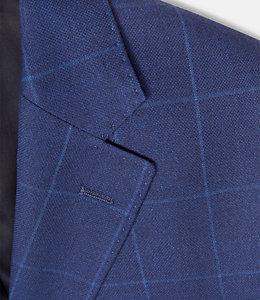 Warren Fit Cobalt Windowpane Sport Coat