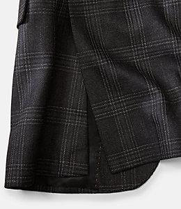 Warren Fit Silk Textured Windowpane Sport Coat