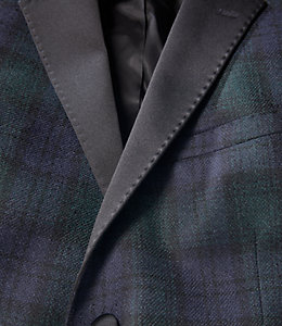 Black Watch Notch Lapel Tuxedo Jacket