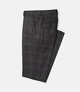 Warren Fit Textured Windowpane Trouser