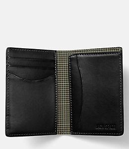 Walker Leather Vertical Flap Wallet