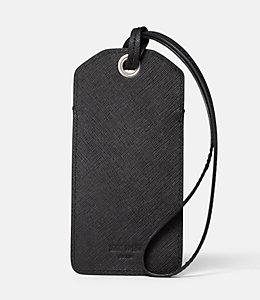 Barrow Leather Luggage Tag