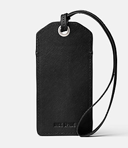 Barrow Leather Luggage Tag