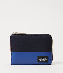 Industrial Canvas Dipped Coin Wallet