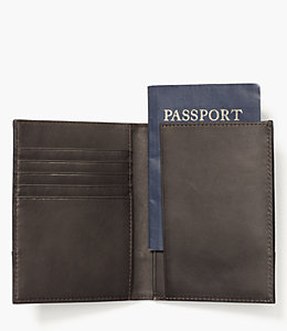Waxwear Passport Wallet