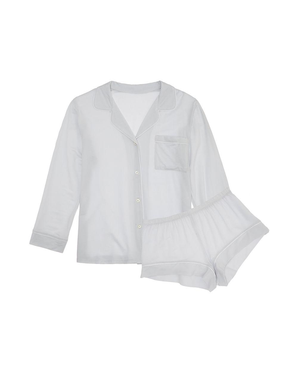 Gisele Long Sleeve/Short Pj Set by Eberjey