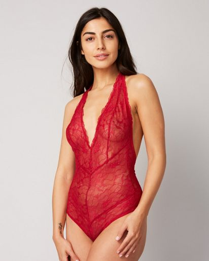 Samantha Chang All Lace Glamour Bodysuit  73b9735be