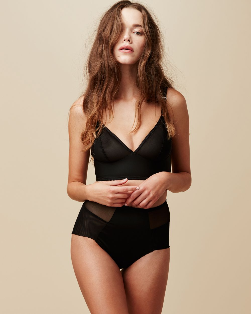 Luna Long Line Bra by Fortnight Lingerie Journelle Stella Mc Cartney Coco De Mer Only Hearts Simone Perele