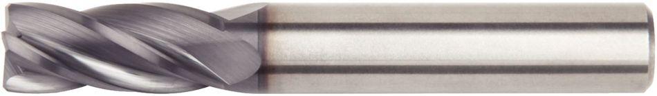 14 mm Cutting Diameter Weldon Shank 4-Flute RH Cut TiAlN Coating WIDIA Hanita 40241400W075S VariMill 4024 GP Roughing//Finishing End Mill Carbide