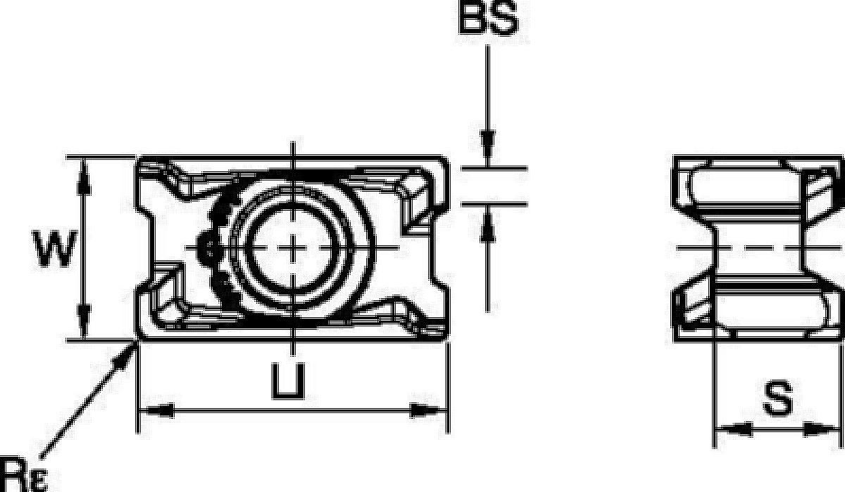 Eckfräsen • Wendeschneidplatte • LNGU15-EGE • Leicht