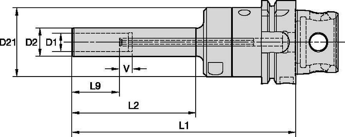 Hydraulic Chuck Slim Line