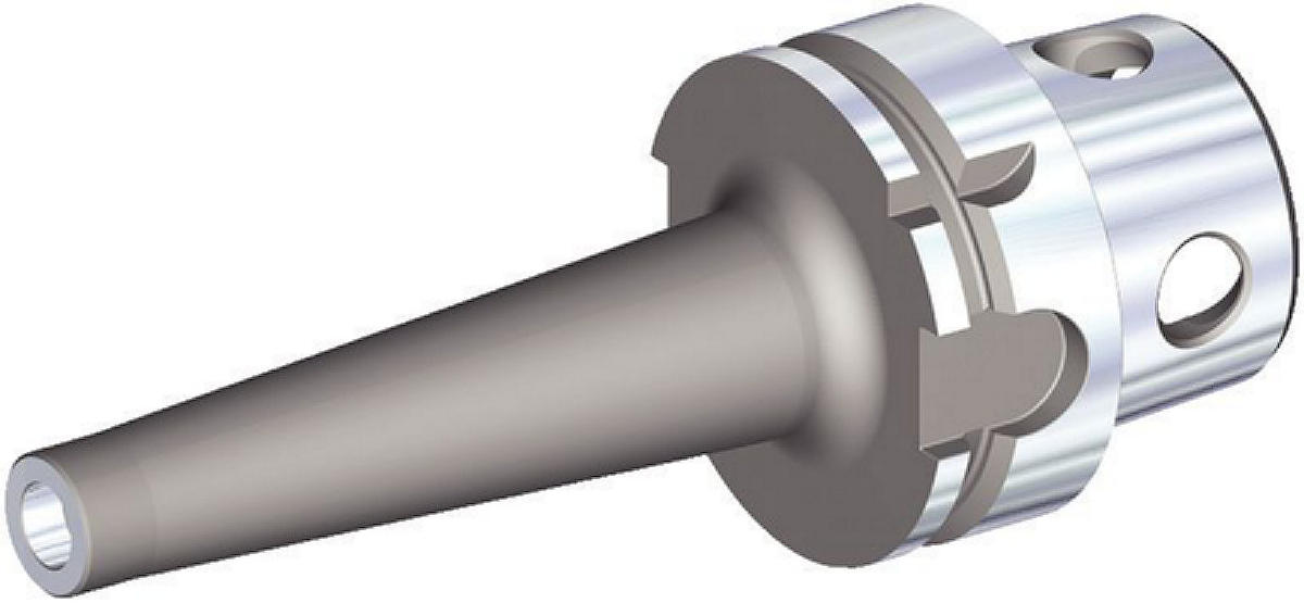 Screw-On Adapter for Modular Milling Cutters
