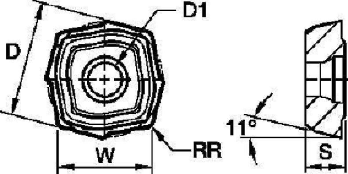 TC4 • Center Inserts • V34