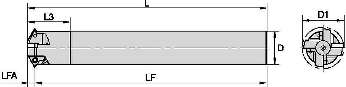 KTMD • Uスタイル • 1/4インチIC • カッター本体