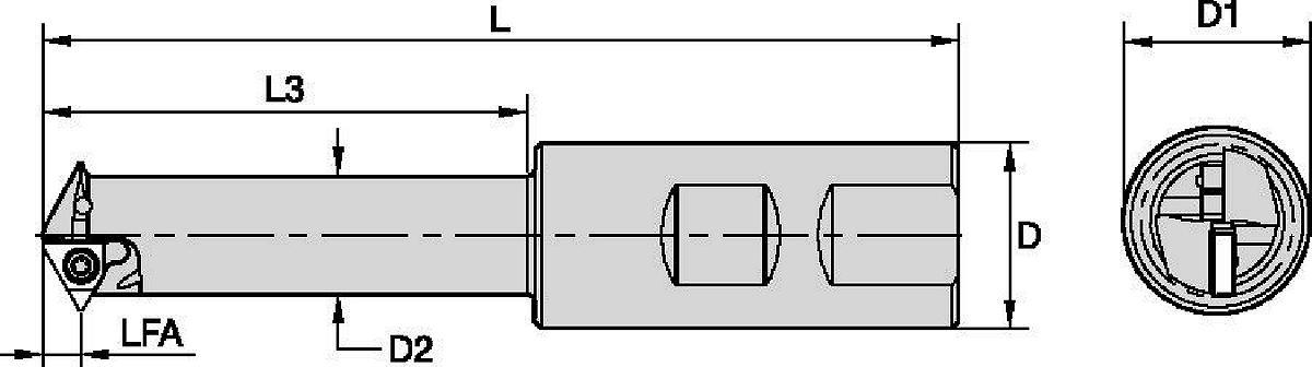 KTMD • Uスタイル • 3/8インチIC • カッター本体