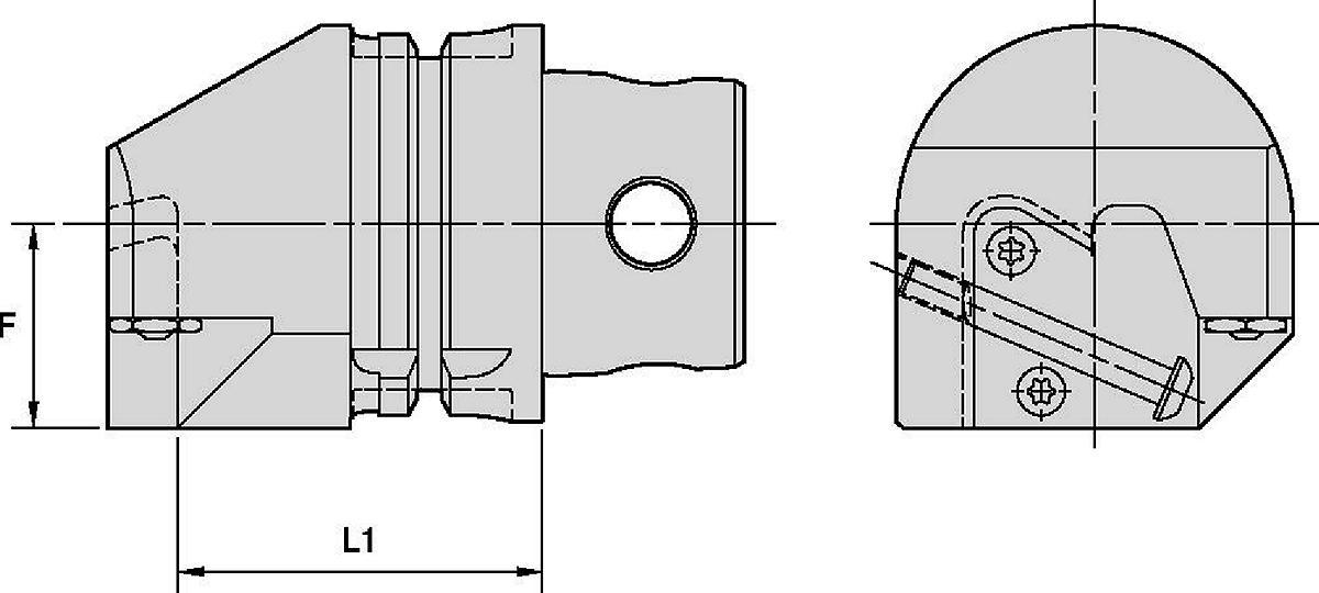 A3™/A4™模块化切槽刀具