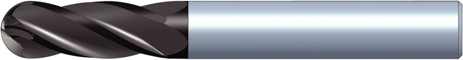GOmill GP • 4BN..DK-DL • 4 Flute  • Ball Nose • Metric