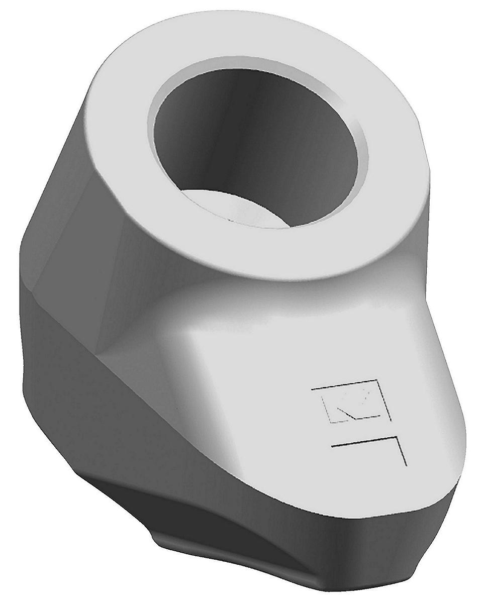 Sistemi di portadenti con codolo 38/30mm