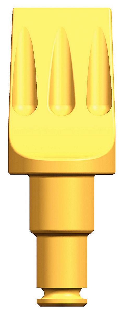Meißel 38/30 mm abgesetzter Schaft • Spatenmeißel