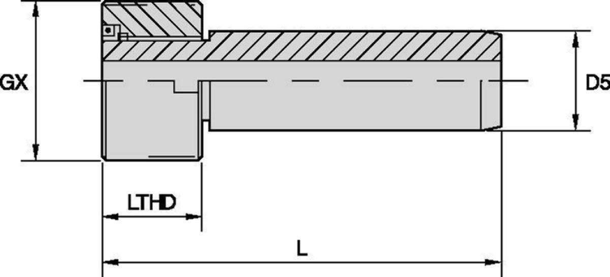 Chiave unità di adduzione di refrigerante HSK
