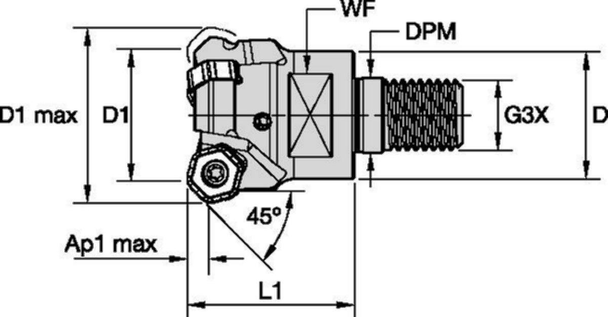 Victory M1200 Mini • Screw-On End Mills