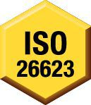 Spécifications fabricant : ISO 26623