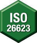 Manufacturer's Specs: ISO 26623