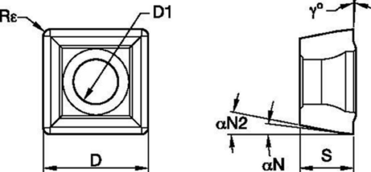 Drill Fix™ DFSP™ • Inserts • LP Geometry