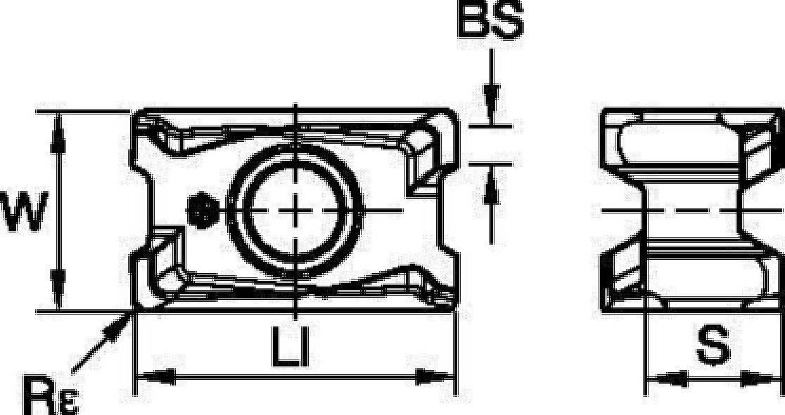 Plaquitas • XNGU-ALP • Para aluminio y otras aleaciones no ferrosas
