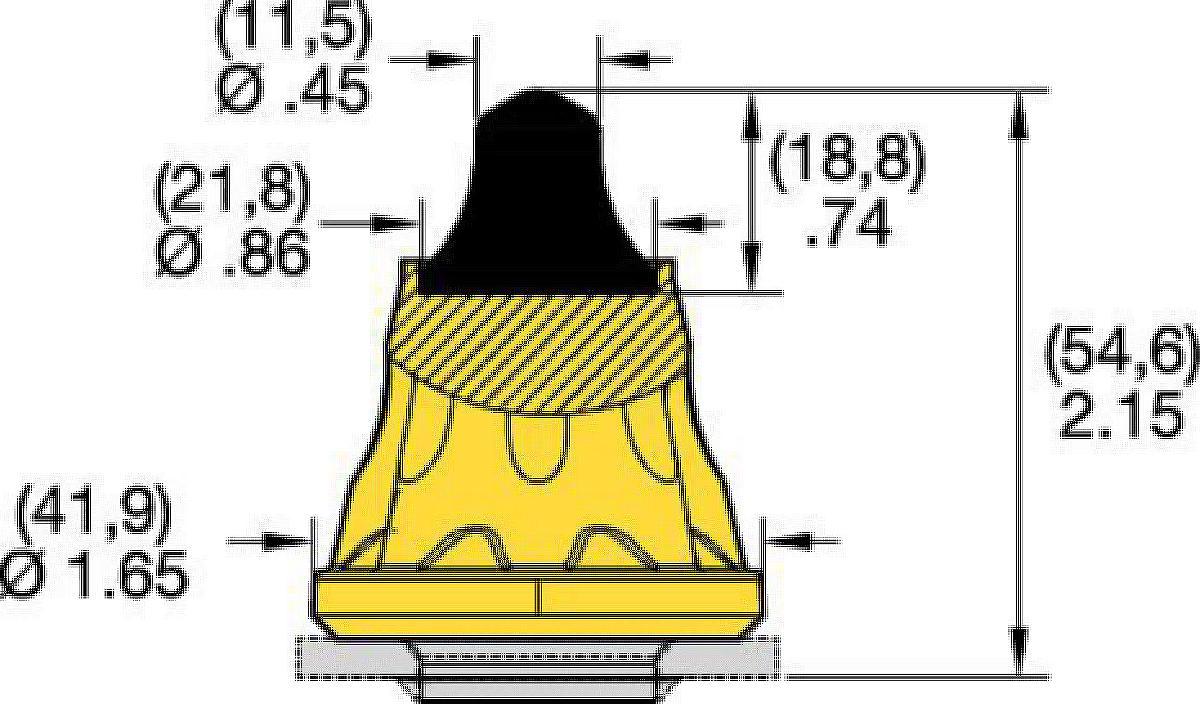"""22 mm (.87"""") Schaft"""