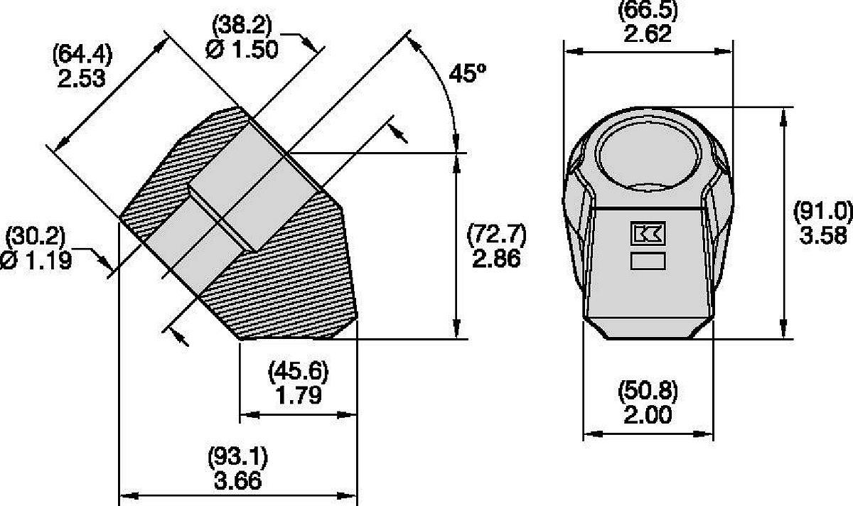 38/30mm Step Shank Blocks