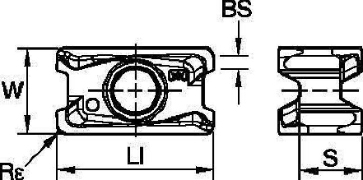 ショルダーミーリング • インサート • LNGU11-ELEJ • 軽~中切削