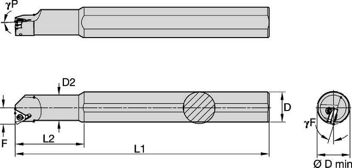 LT Threading Boring Bars
